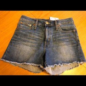 J Crew Factory Denim Shorts